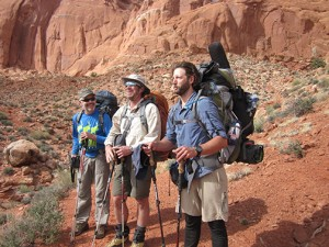 Matt Aller, Giles Wallace and photographer Jess Leondard.